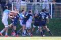 Bagarre rugby bayonne agen (2)
