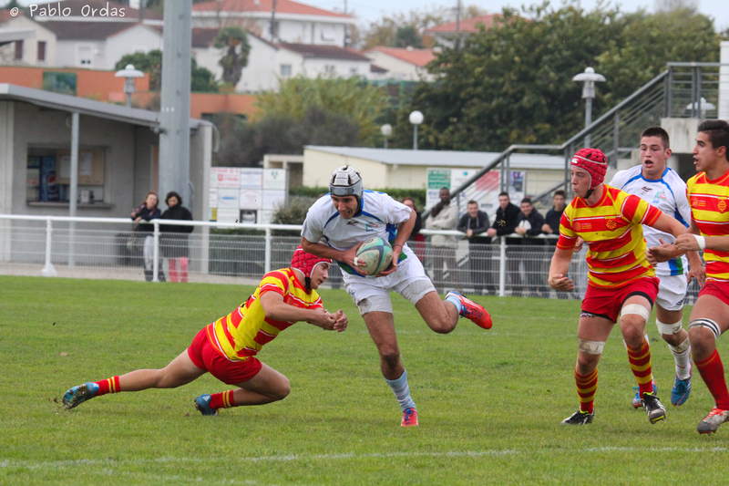 Manuel Ordas Rugby Aquitaine Selection