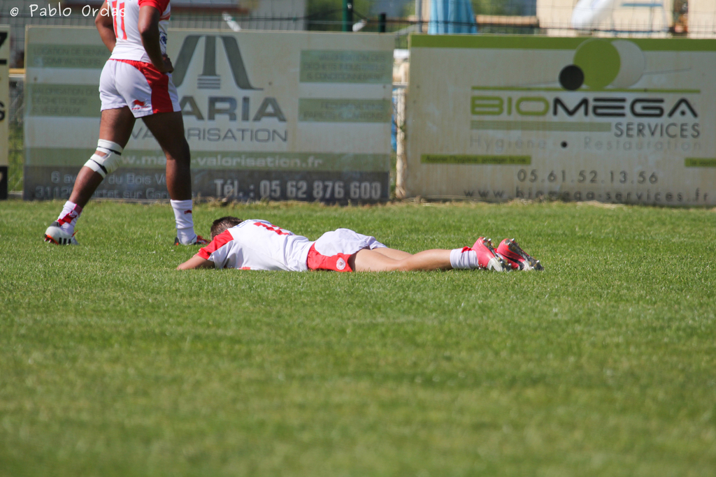 Défaite du Biarritz Olympique en finale du championnat de France Crabos.