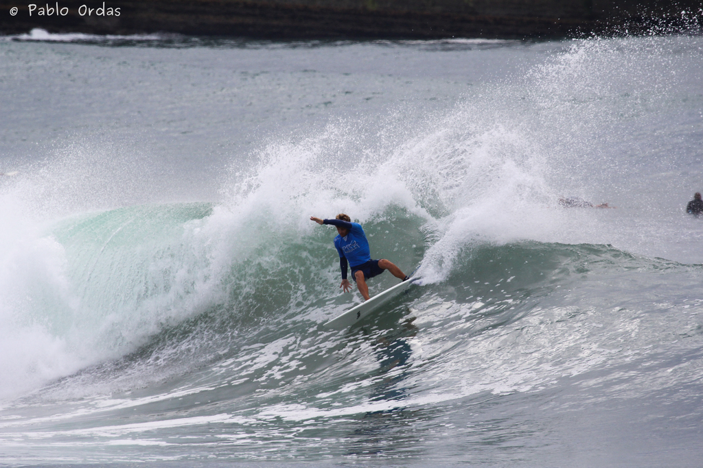 Julien Thouron, Pro Anglet, Round 5