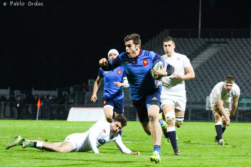 Damian Penaud, Equipe de France U20