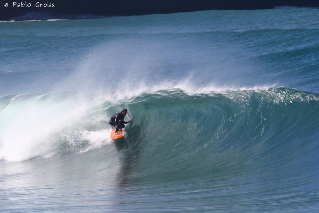 Surf à la plage du Club, Anglet